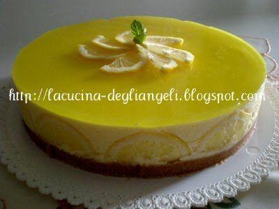La cucina degli Angeli: Bavarese al limone
