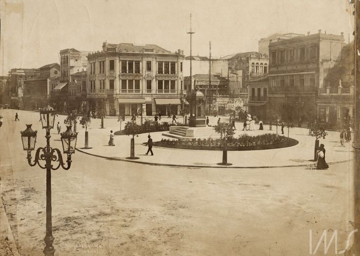 Malta, Augusto Malta -    Largo da Carioca,  1907