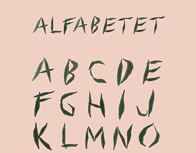 "Check out new work on my @Behance portfolio: ""THE ALPHABET"" http://be.net/gallery/31118621/THE-ALPHABET"