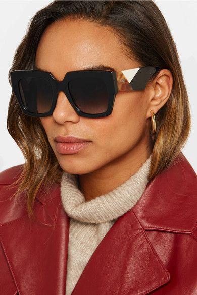 365 Fendi   Square-frame acetate sunglasses   NET-A-PORTER.COM   Wish List    Pinterest af845aa48606