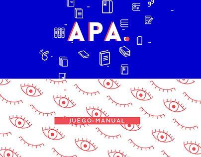 """Check out new work on my @Behance portfolio: """"Juego- Manual para Secundaria sobre normas APA"""" http://be.net/gallery/54274187/Juego-Manual-para-Secundaria-sobre-normas-APA"""