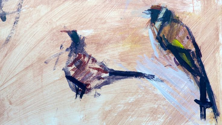 goldfinch and pheasant - Helen Kennedy
