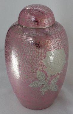 UrnsDirect2U Pink Rose Adult Urn - 9825-10
