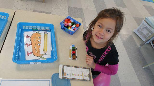 La maternelle de Francesca Je mesure les images à l'aide des cubes emboîtables et j'inscris la mesure (nombre de cubes) dans le tableau.  (C-5)