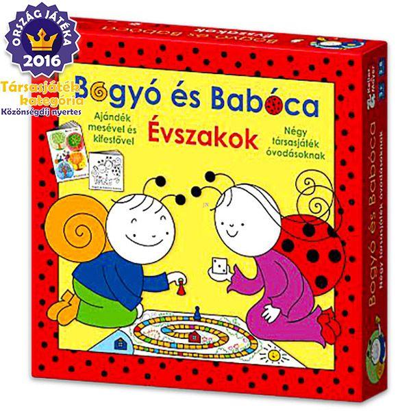 Bogyó és Babóca Évszakok társasjáték - . kép