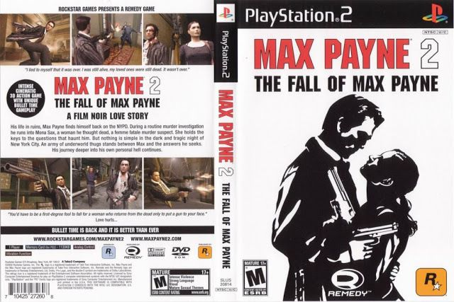 Max Payne 2 The Fall Of Max Payne Ps2 Szt Max Payne Drama