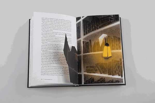 """And an actually invisible trip to the library's Restricted Section. 