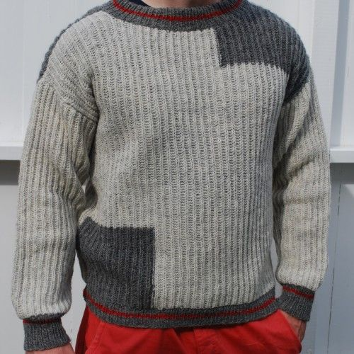 Pattern number 55. Heart on the sleeve 3
