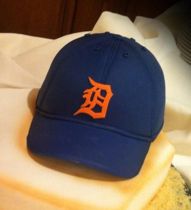 Detroit Tigers baseball cap - Cake by Skmaestas
