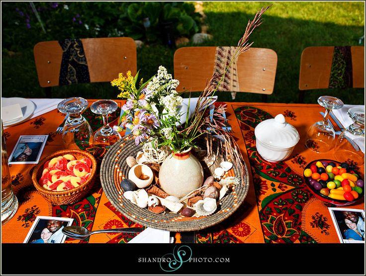 African Wedding Decorations: African Weddin Greception