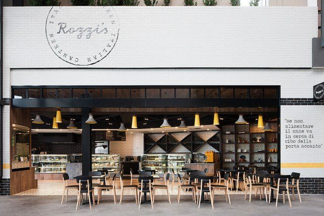 Rozzi s italian canteen by mim design melbourne for Interior design agency melbourne
