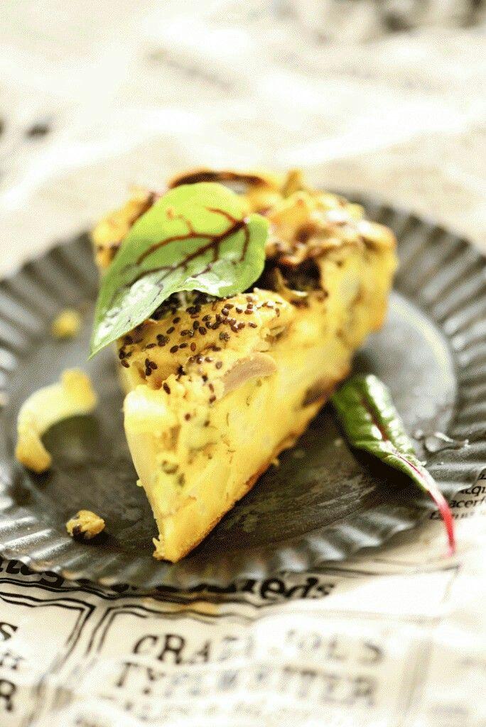 Frittata - italiensk æggekage på den klimavenlige måde
