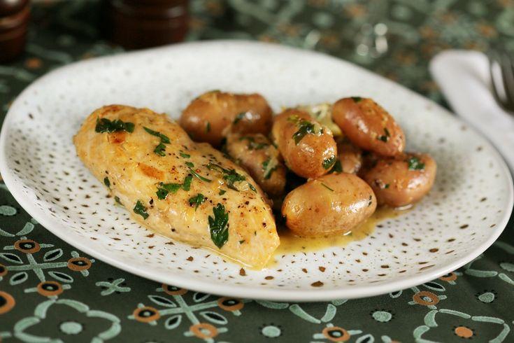 Citromos-vajas csirke: Egyszerű és gyors vacsi