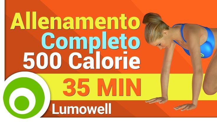 Allenamento Completo per Bruciare 500 Calorie - Esercizi a Corpo Libero