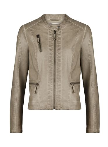 Sandwich Vintage Style Faux Leather Jacket £119 at www.lbdboutique.co.uk style number 1521520208