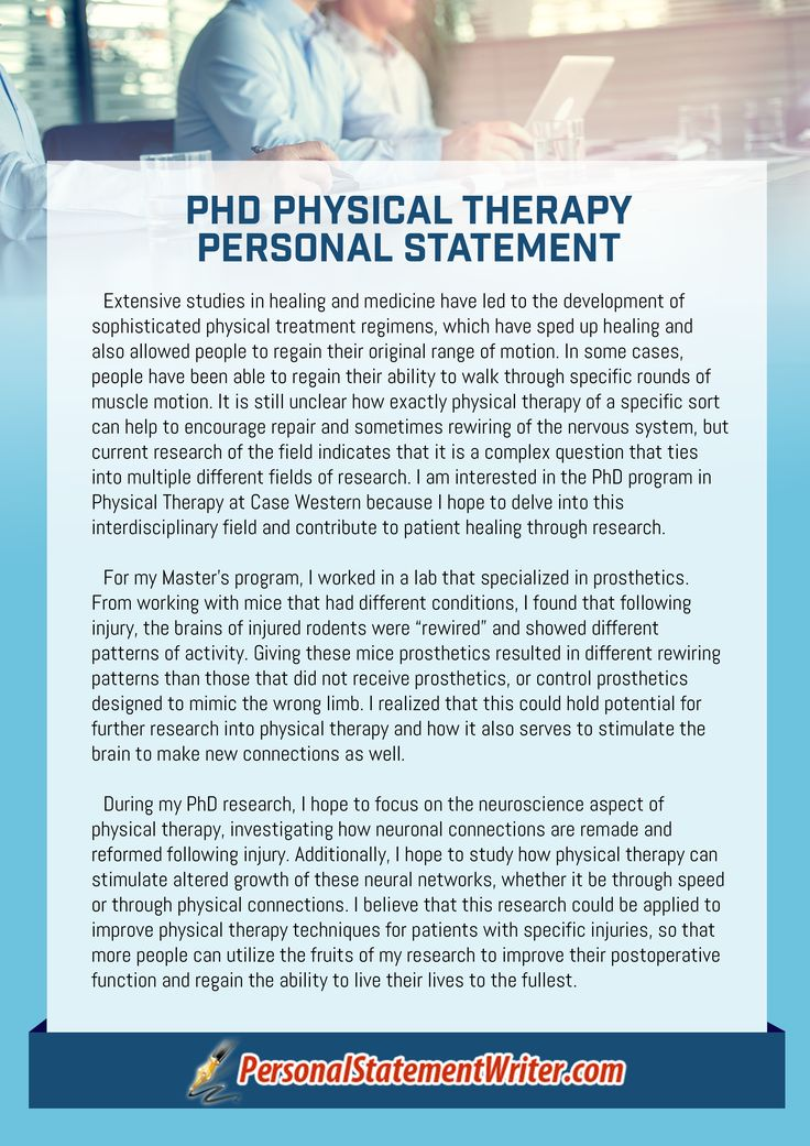 aba program template - amazing physical therapy personal statement sample that