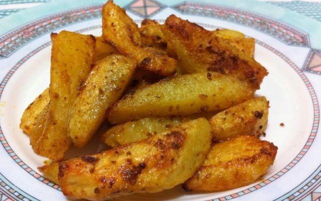 Ricetta delle patate speziate all'indiana