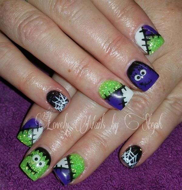 Day 304: Happy Halloween Nail Art - - NAILS Magazine