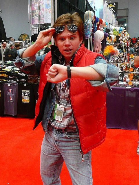 Marty McFly     #cosplayDoneRight #Cosplay #BackToTheFuture #NYCC    by gluetree