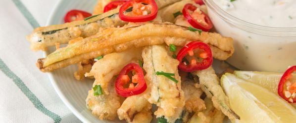 Fried Zucchini Batter Recipe - Genius Kitchensparklesparklesparklesparkle