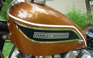 AMF Harley XL XLCH Gas Tank Decal Left & Right side 61776-69 61777-69