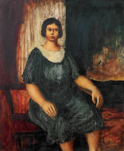 The Drover's Wife (1945) George Russell Drysdale (1912-81) Australia