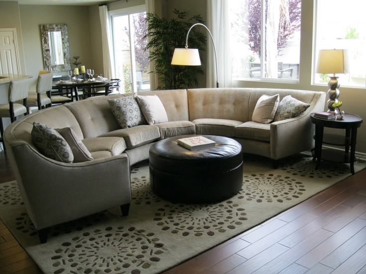 Beautiful Round Living Room Furniture