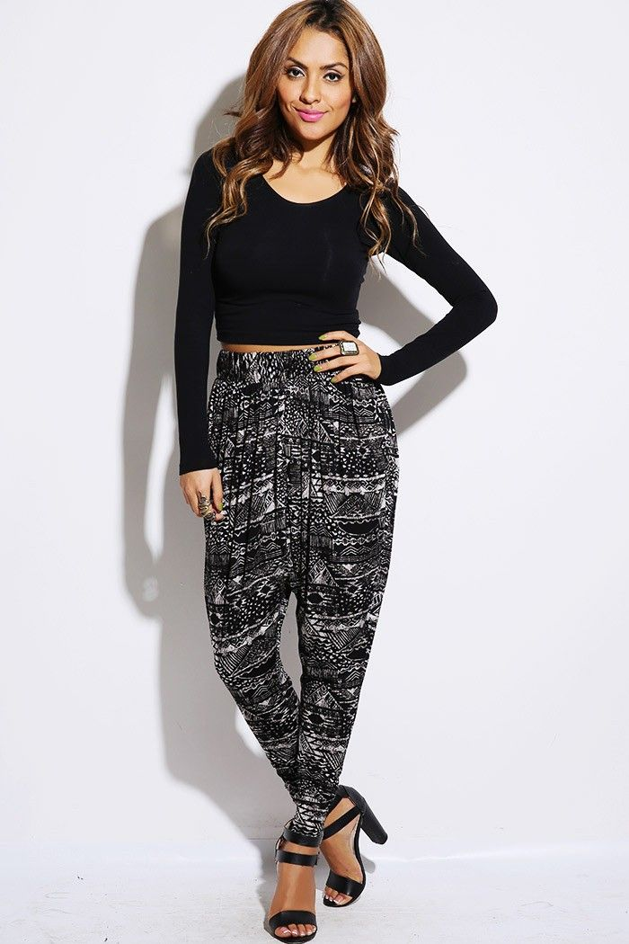 Lastest Stylish Harem Pants For Women With Hippie Fisher Design U2013 Designers Outfits Collection