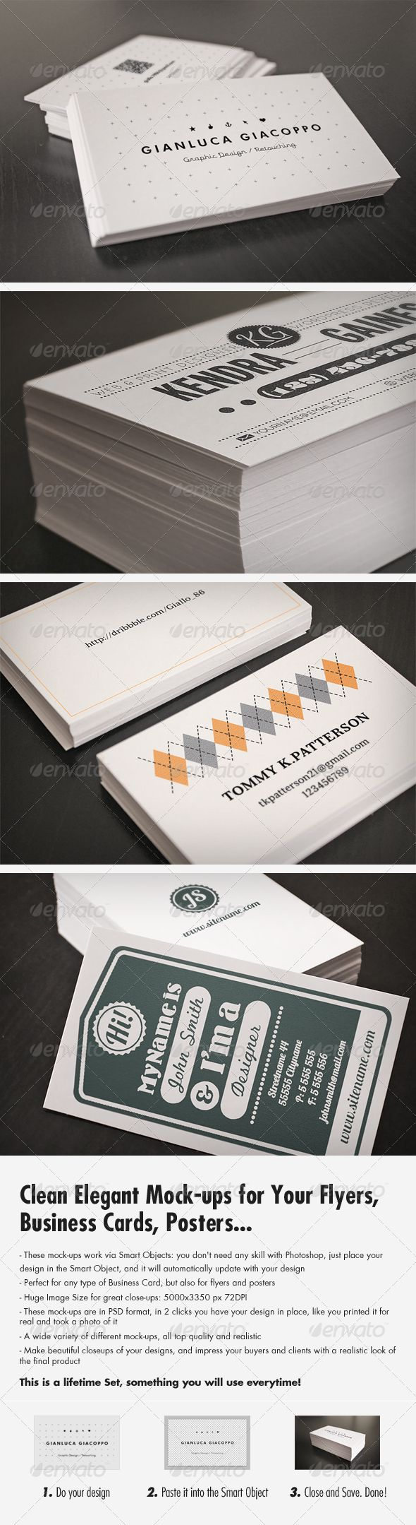 38 Best Business Card Images On Pinterest Miniatures Mockup And Model