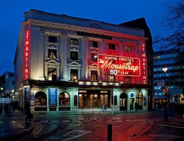 A teatro con Agatha Christie. Il St. Martin's Theatre