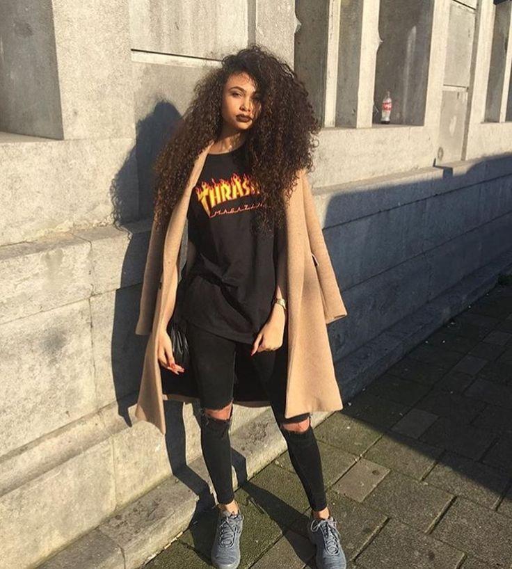 Pinterest @ prettygirlslied | u2022 Fashion killa u2022 | Pinterest | Thrasher Clothes and Baddie