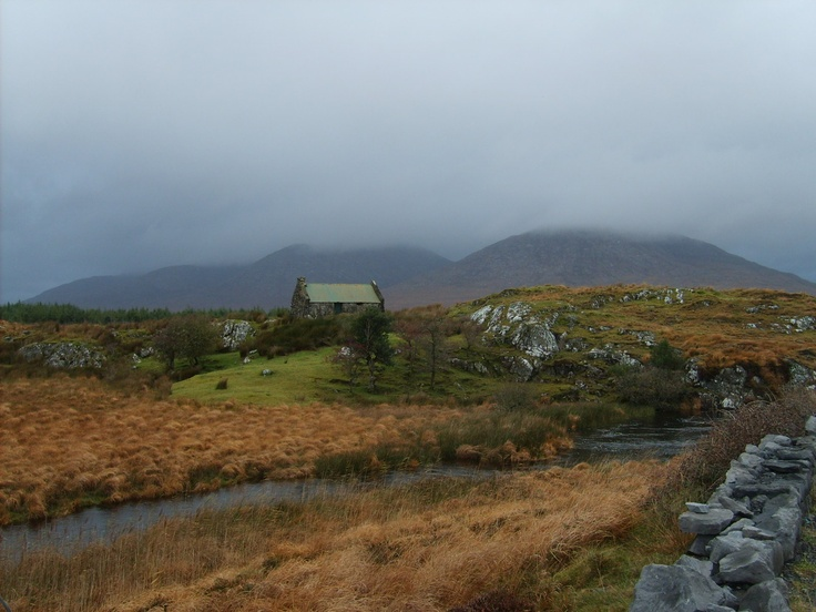 Connemara, Ireland. Bleak but beautiful.