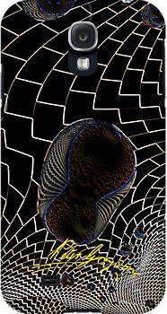 Checkered Past 19 Samsung Galaxy S4-Snap  Artwork by petellgra