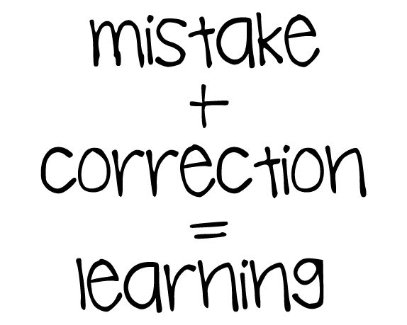Image result for mistake correction learning