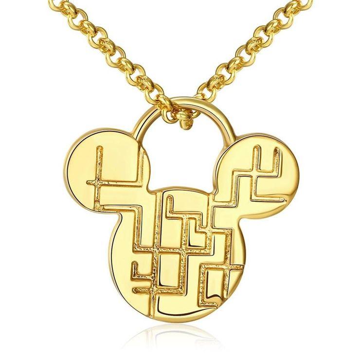 Original collar de la nueva colección 2018, excelente diseño como muestra la imagen, Baño en Oro y Antialergico
