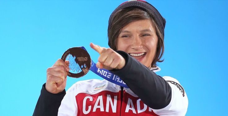 Kim Lamarre Bronze in Women's Slopestyle Skiing.
