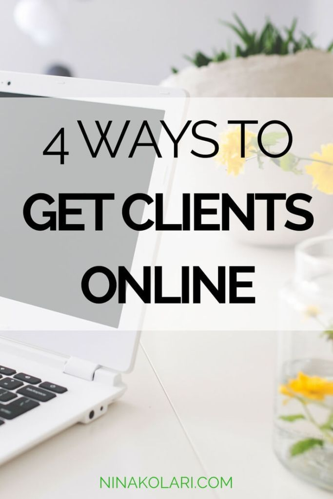Before you start looking for clients online, it is crucial that you have done your research and already have your ideal client mapped out. Competition is fierce online so you must know who you serve and what problem your product/services solves for that person. Here are my tips on how to find clients online.