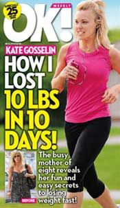 Kate Gosselin's Diet Helps Her Lose 10 Pounds