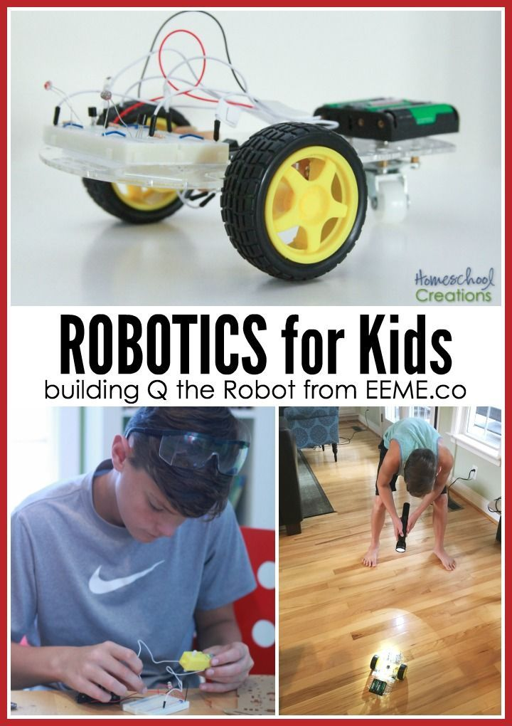 Robotics for kids - learn about robotics with Q the robot from projectEEME - no coding required!