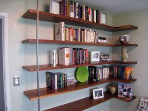 Best 25+ Wall shelves for books ideas on Pinterest   Small basement  furniture, Vintage room decorations and Diy projects room divider