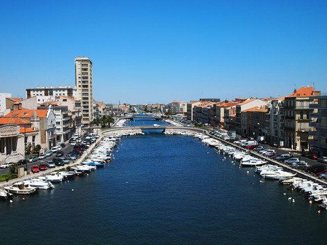 Canal in Sete