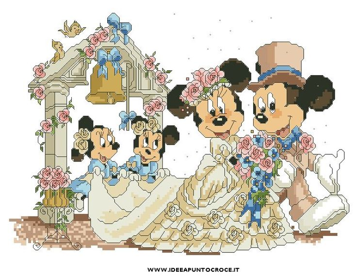 Minnie E Topolino Sposi by syra1974