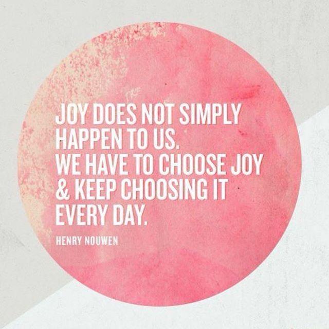 WEBSTA @ ninaamarie_w - I choose joy!