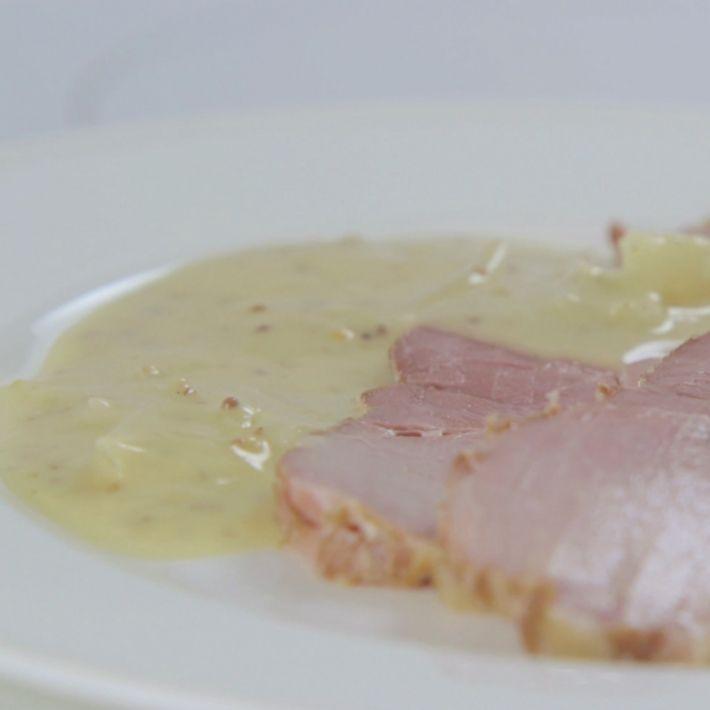 Cs onion and mustard sauce