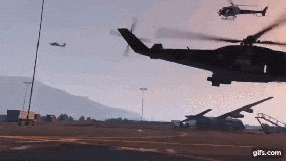 Our GTA Crew raided Fort Zancudo!