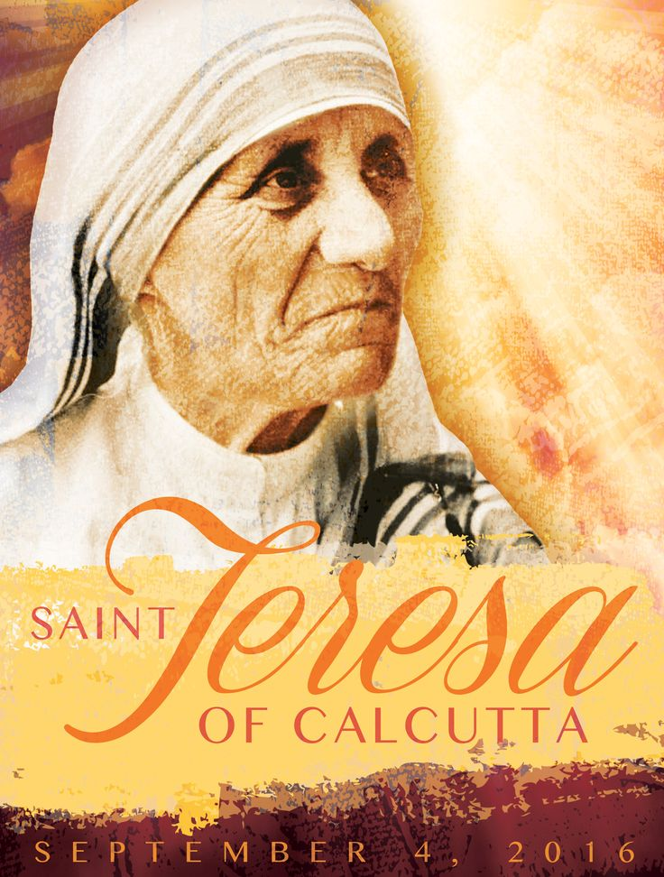 Free English language cover to honor the canonization of Saint Teresa of Calcutta. #MotherTeresa