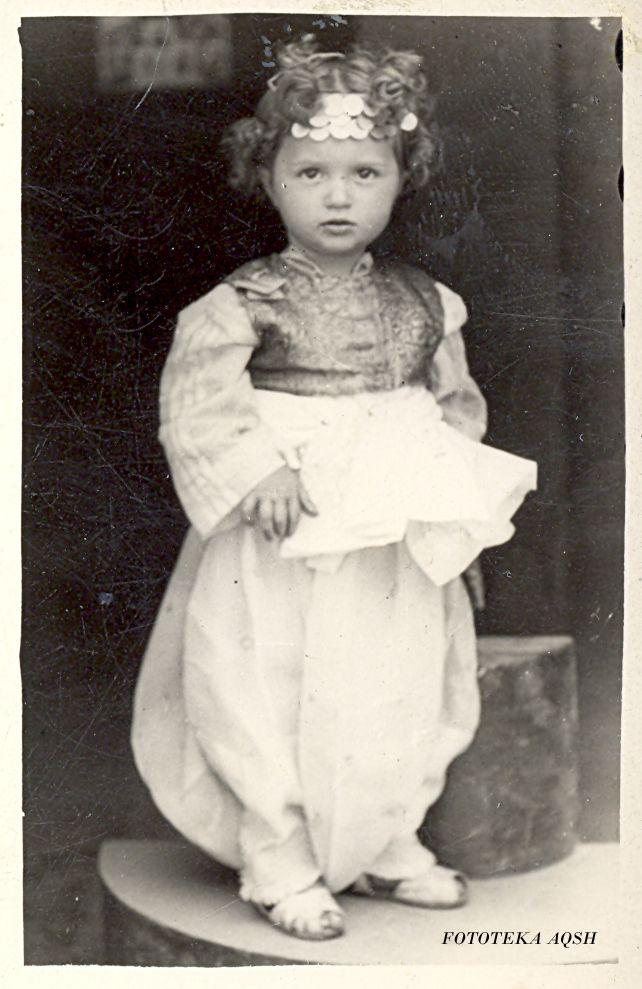 Ethnic Albanian little girl