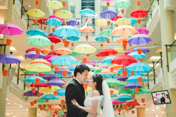 These umbrellas would be handy for Melbourne's rainy season! Here's a sneak preview of our dear Singaporean couple, Su San and Augustine's pre wedding adventure. Full story to follow soon. #umbrella #prewedding #weddingphotography  Shot by Karen Woo  Wedding Photographer Melbourne