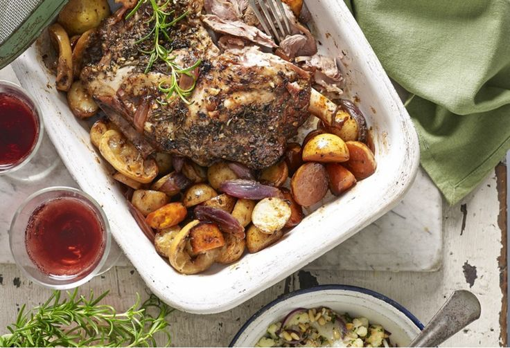 Nothing beats a fork-tender, slow-cooked lamb shoulder. Add this Greek-inspired roast to your Easter table