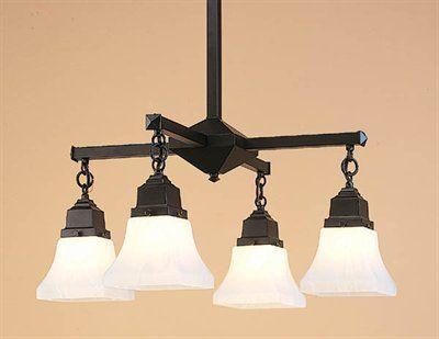 craftsman chandelier for dining room